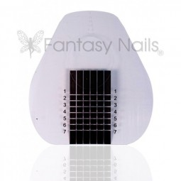 Fantasy Gel Schablonen Clear-Black