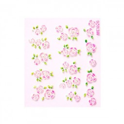 3D Nail Stickers – Rosen Rosa