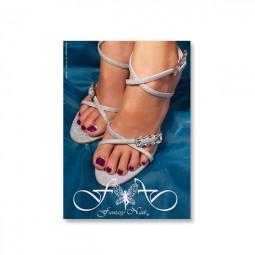 Fantasy Poster Pedicure Silver